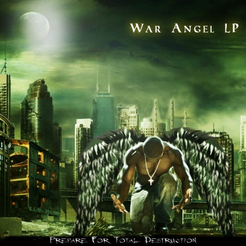 50 Cent - War Angel LP FRONT
