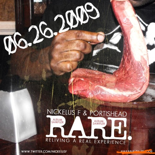 Nickelus F & Portishead - R.A.R.E (SAMPLER) Art_EDIT