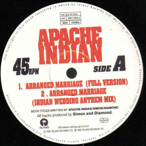 Apache Indian - Side A
