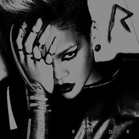 rihanna rated r cover