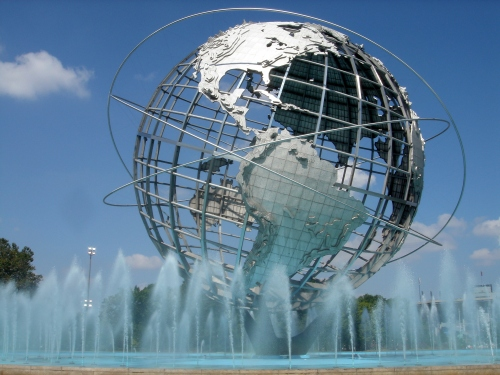 The FLushing Meadows Globe In Queens